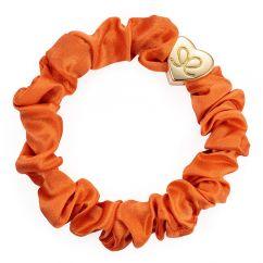 Byeloise Hairtie Orange Peel Silk Scrunchie