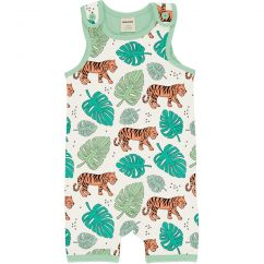 Meyadey Tiger Jungle Shortie Dungarees
