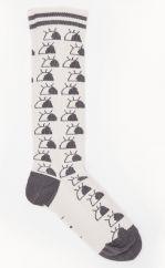 The Bonniemob monochrome eyes socks