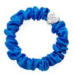 Byeloise Hairtie Royal Blue Silk Scrunchie