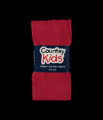 Country Kids tights ruby red