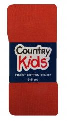 Country Kids Tights - Rust