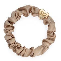 Byeloise Hairtie Sand Silk Scrunchie