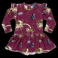 Raspberry Republic Unicorn Crew Baby Body Dress