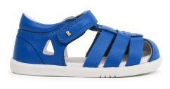 Bobux tidal closed toe sandals blue