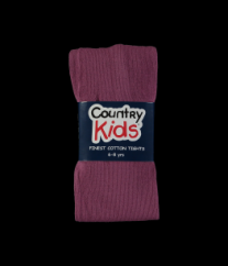 Country Kids tights soft aubergine