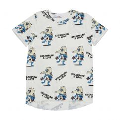 Jelly Alligator Steampunk & Love T-shirt