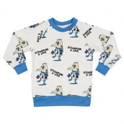 Jelly Alligator Steampunk & Love Sweatshirt