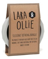 Lara and Ollie stone teething bangle