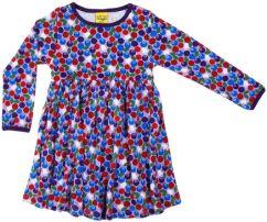 Duns blueberry purple dress