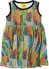 DUNS City Twirly Gathered Dress