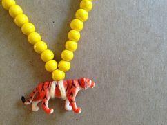 Pray4Trax Necklace Tiger (yellow)