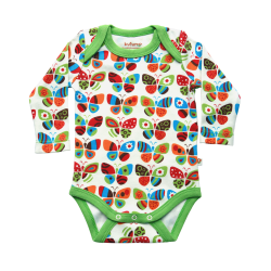 Kutuno Butterflies Long Sleeve Body Vest (SMALL/Slim Fitting)